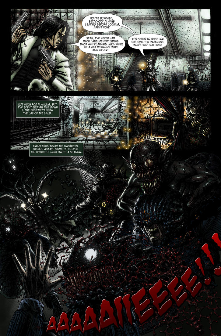 The Darkness II Contest Final Page by NRGart7