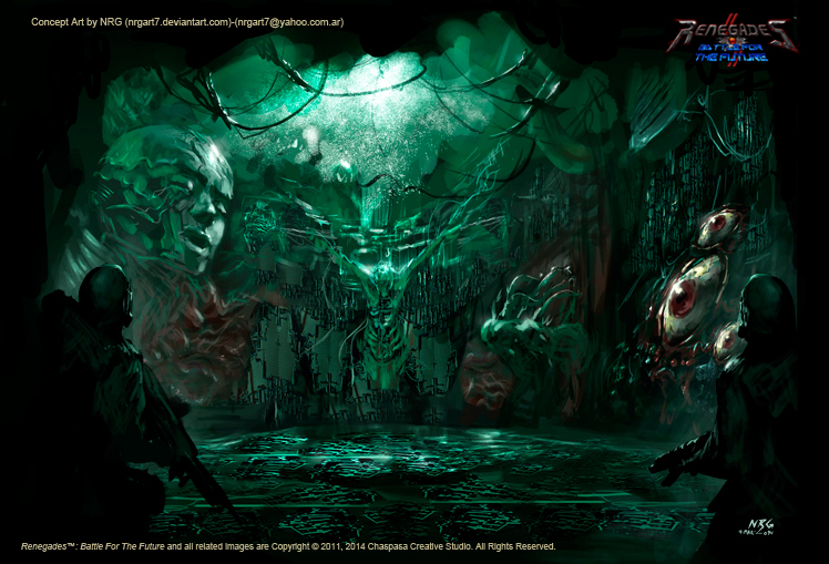 Renegades BFTF- Dark Zone Concept by NRG by NRGart7