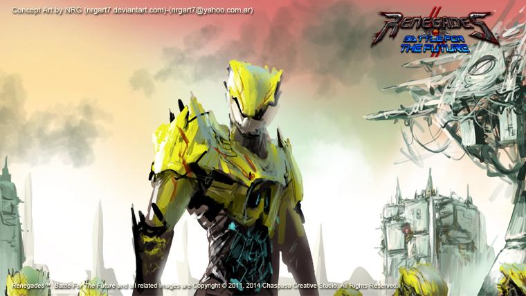 Renegades BFTF-StormFront Elite Unit sketch by NRG by NRGart7