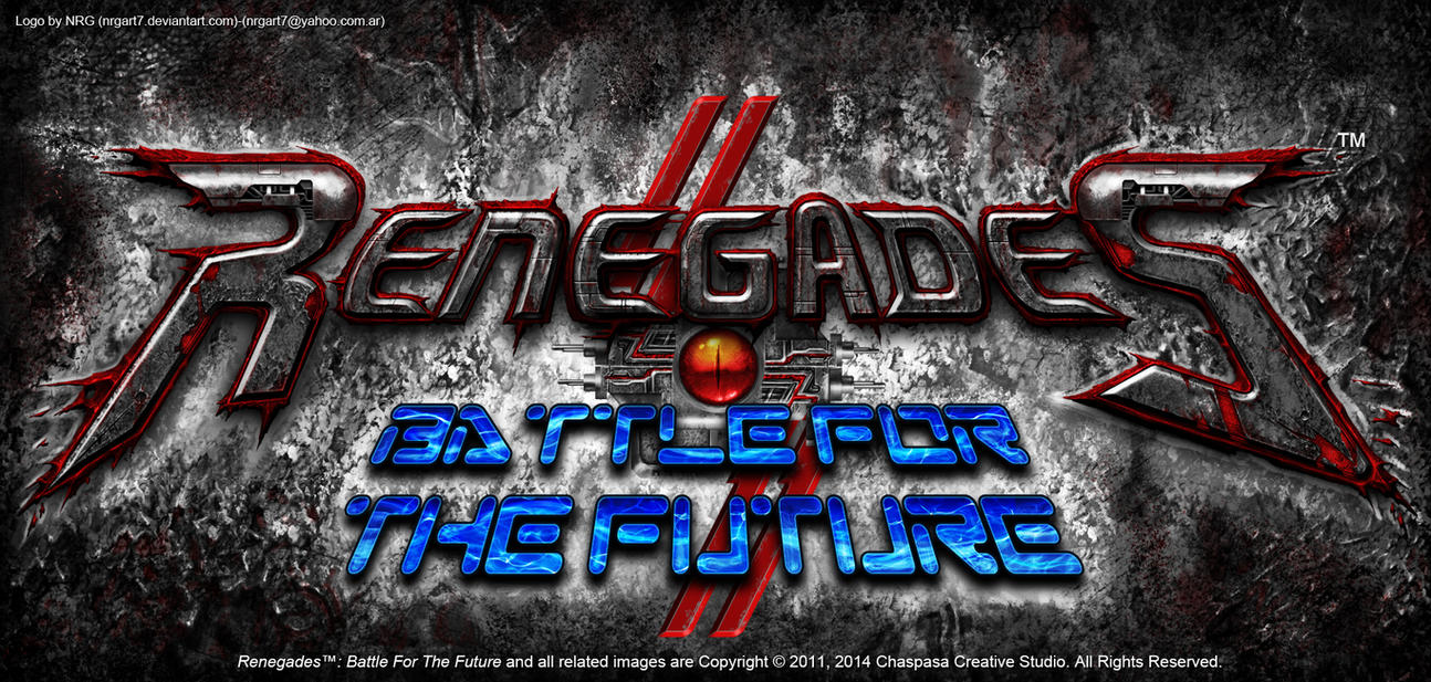 Renegades Battle For The Future Logo by NRG by NRGart7
