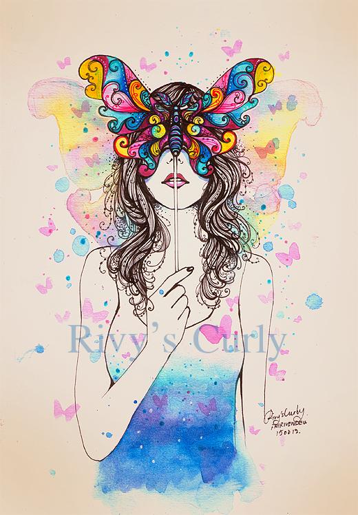 Butterfly by rivyinrivendell