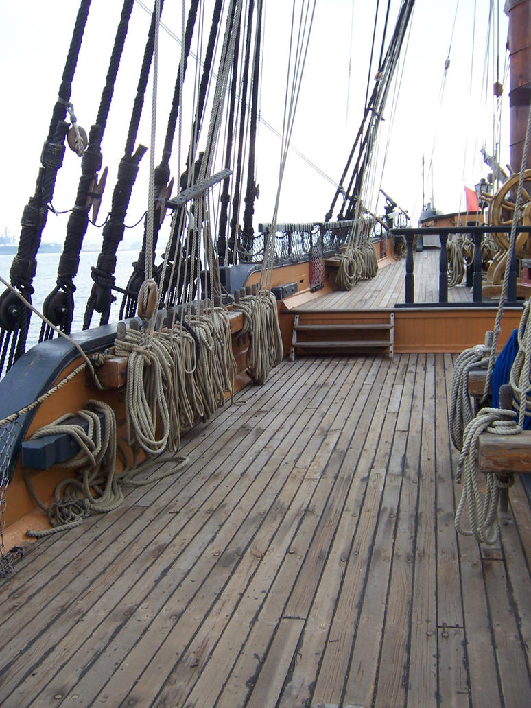 On Board a Pirate Ship by stock-it