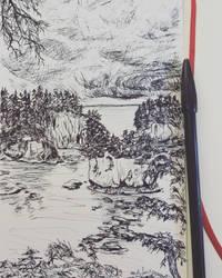 Washington Sea Rocks by maddieamie