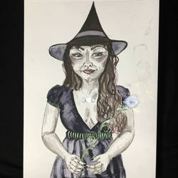 Witchy Claire by maddieamie