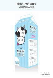 Karvutes pienas pakuote