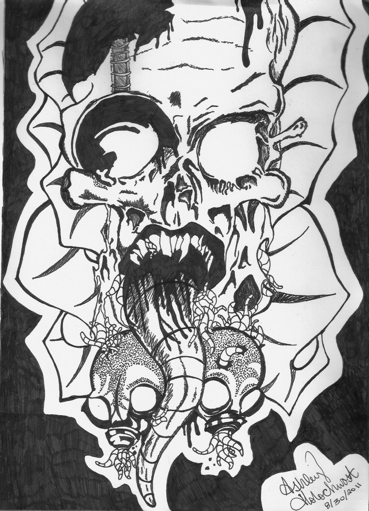 Devious Disfigurement by AshleyHolochwost