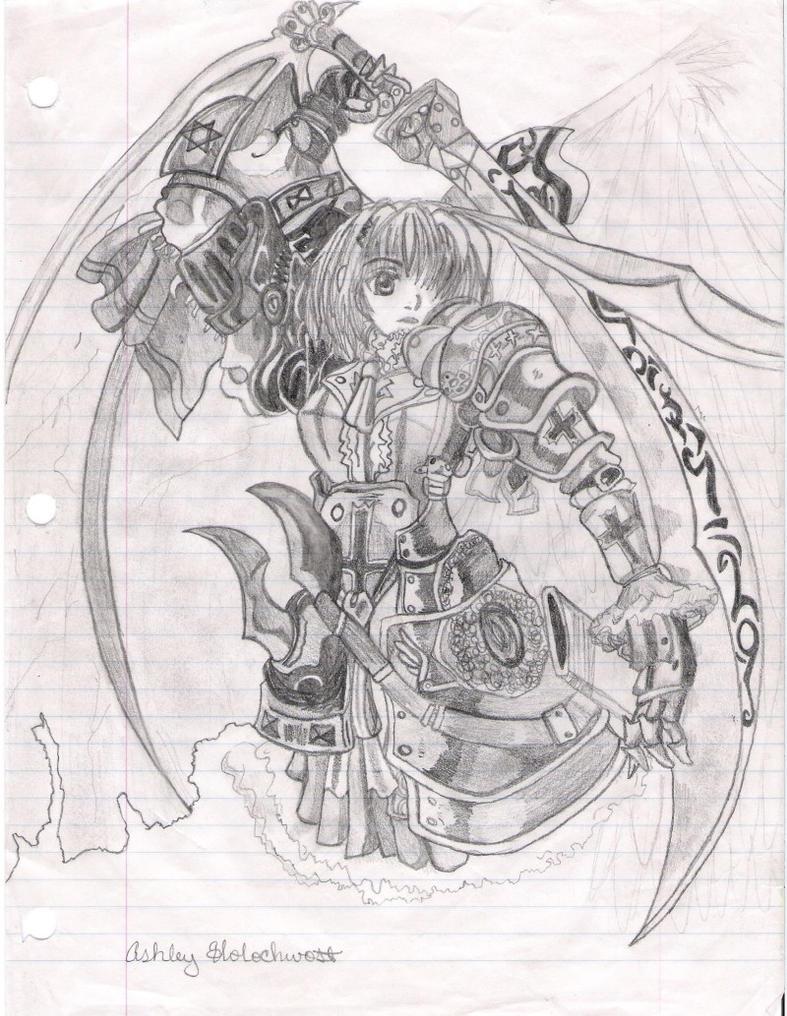 Anime Warrior. by AshleyHolochwost