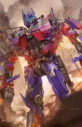 Optimus Prime by alex-malveda
