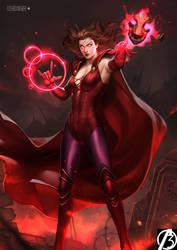 Scarlet Witch by alex-malveda