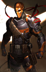 Deathstroke by alex-malveda