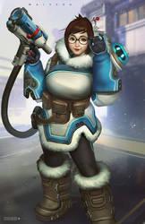 Mei-Ling Zhou (Overwatch) by alex-malveda