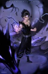 Hiei (Master of the Evil Eye) by alex-malveda