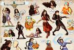 Aang and Katara collection