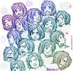 A bunch of expressions
