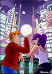 Futurama - I'd give you the moon...