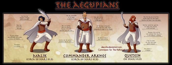 Commission 2/3 - Aegupians