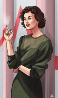 Audrey Horne by Aleccha