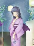 Hinata in kimono - Tanabata
