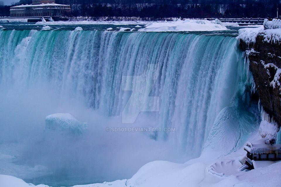 When Niagara Froze by SD501