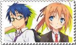 MAyo Chiki Big Stamp [Anime] by Hinatka3991