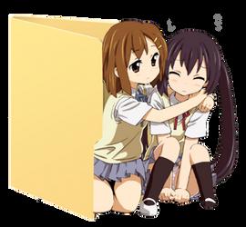 Yui AND Azusa Folder Icon [K-ON]