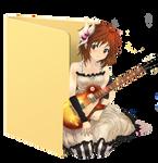 Yui Guitar Folder Icon by Hinatka3991