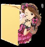 Iori Minase Folder Icon 2 by Hinatka3991
