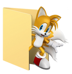 Tails  Folder Icon [Sonic] by Hinatka3991
