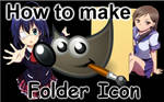 How To Make Anime Folder Icon by Hinatka3991