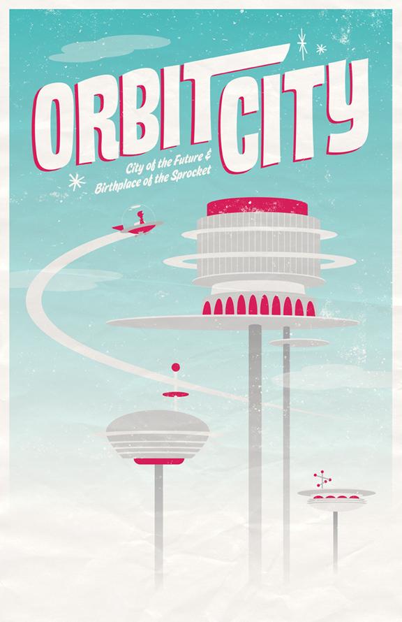 Welcome to Orbit City by AdamLimbert