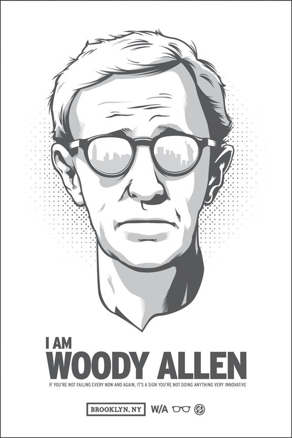 I AM WOODY ALLEN by AdamLimbert