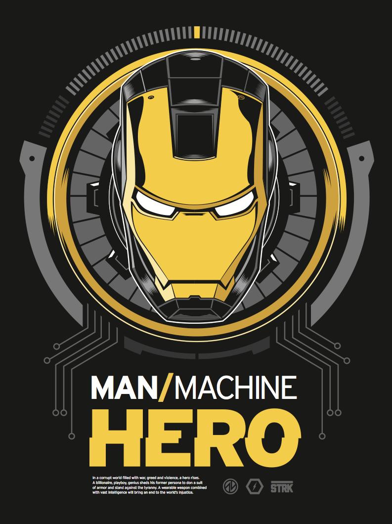ManMachineHero NOW Variant by AdamLimbert