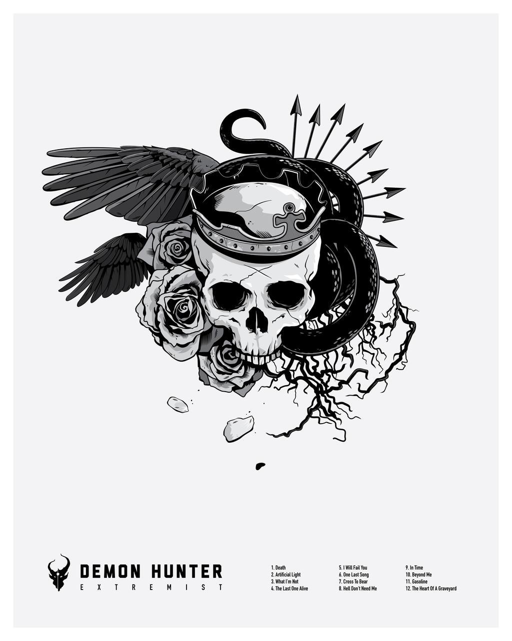 Demon Hunter Print Final Hunt by AdamLimbert