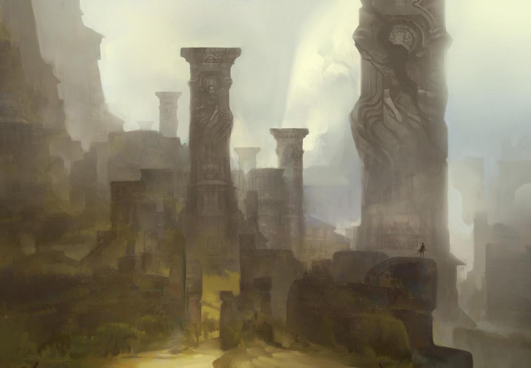 Bones of the Slumbering City by TomScholes