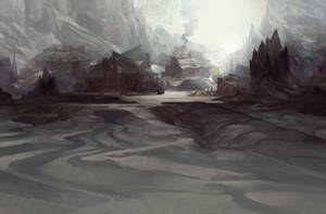 Villager's Return by TomScholes