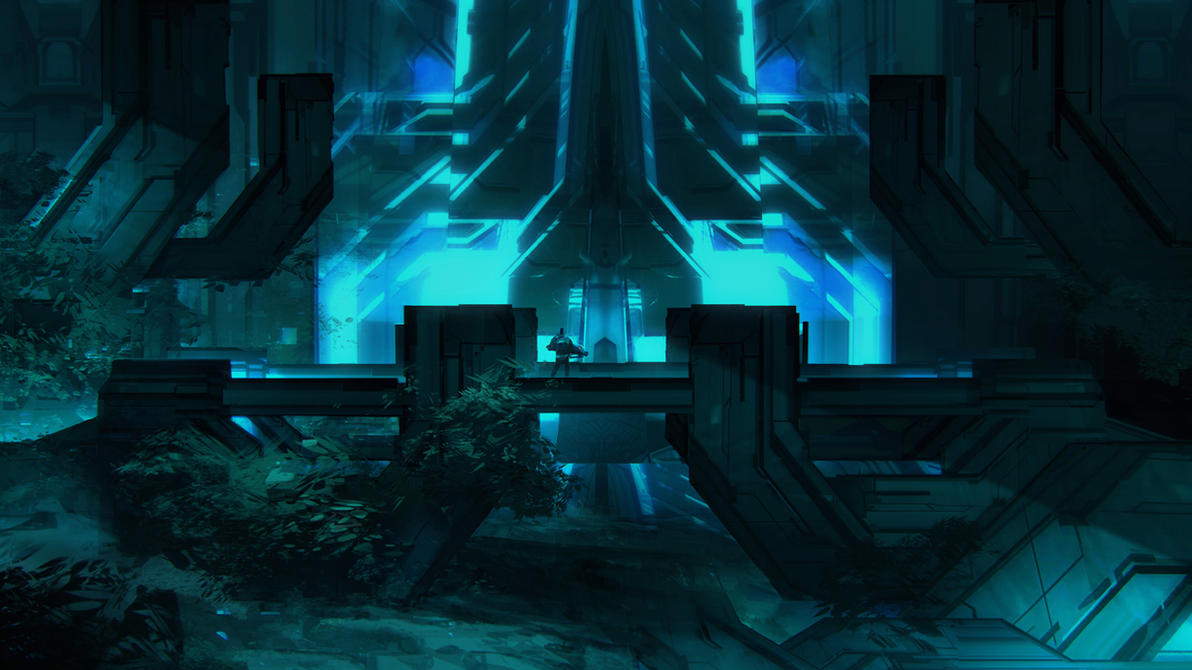 Halo 4 Temple by TomScholes