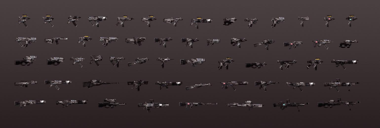 SpaceUzi Sketches by TomScholes