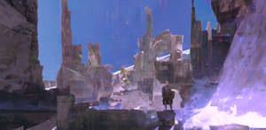 Snowy Ruin by TomScholes