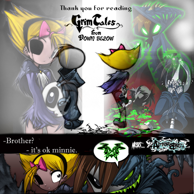 Grim Tales End Poster by cyb3rdude4000