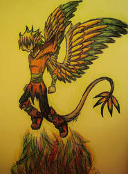 Strength In Fire by DreagonArchives