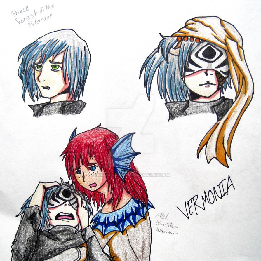 Captain Acidulous and Mel by DreagonArchives