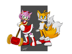 Amy and Tails AT: SonicFan3