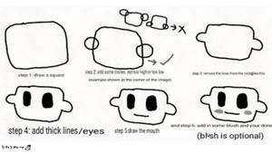 How to draw an elsen head