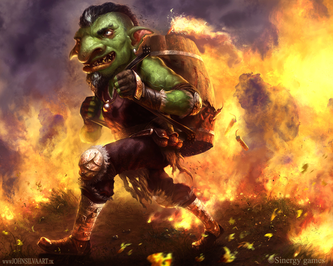 TNT Goblin by JohnSilva