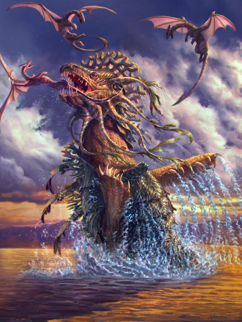 Sea Dragon - Advanced ver. by JohnSilva on DeviantArt
