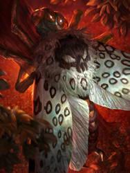 Moth of Death, regular by JohnSilva