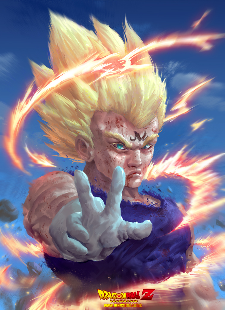 Majin Vegeta by JohnSilva