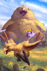FFVII - Chocobo Summon.