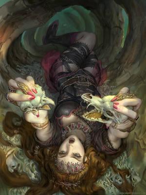 Necromancer: Regular. by JohnSilva
