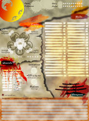 l5r phoenix sheet side A by Shoujiko